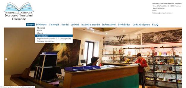 Biblioteca.comune.frosinone.it