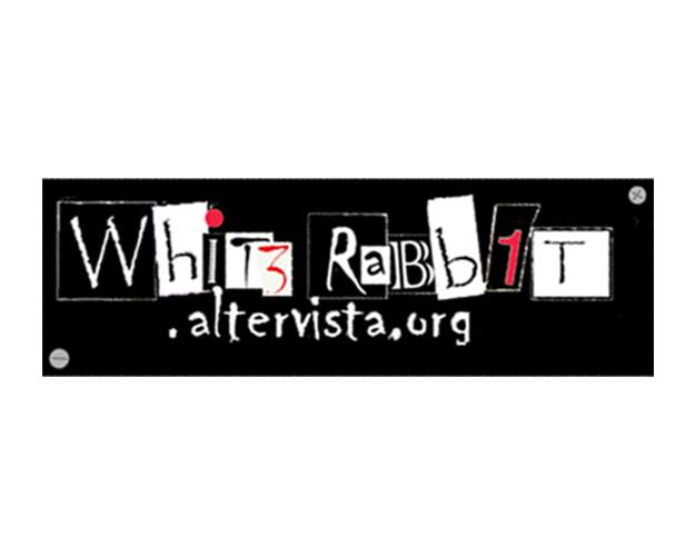 Logotipo del sito Whit3rabb1t