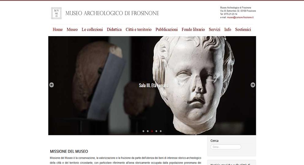 Museoarcheologico.comune.frosinone.it