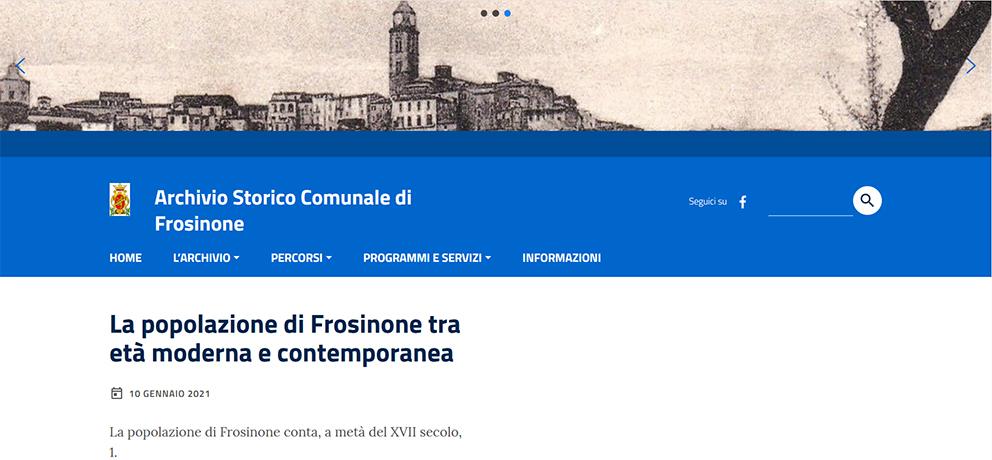 Archiviostoricofrosinone.it